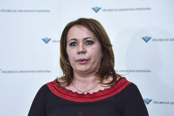 Generálna riaditeľka Všeobenej zdravotnej poisťovne (VšZP) Ľubica Hlinková.