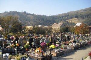 Cintorín v Krásne nad Kysucou.