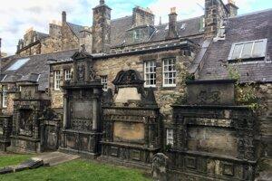 Cintorín Greyfriars.