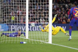 Marc-Andre ter Stegen a jeho zákrok v zápase Ligy majstrov 2019/2020 FC Barcelona - Slavia Praha.