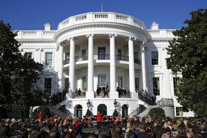 Sídlo amerických prezidentov Biely dom.