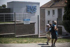 Budova BVS na Brečtanovej ulici.