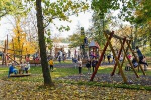 Zámocký park.