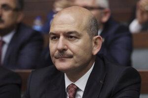 Turecký minister vnútra Süleyman Soylu.