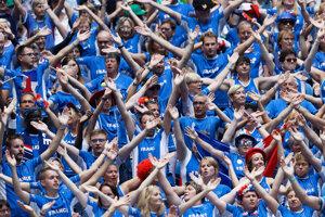 Fanúšikovia Francúzska počas finále.