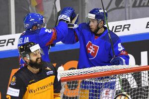 Jakub a Matúš Sukeľovci v reprezentácii počas Nemeckého pohára.