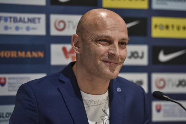 Tréner Adrián Guľa.