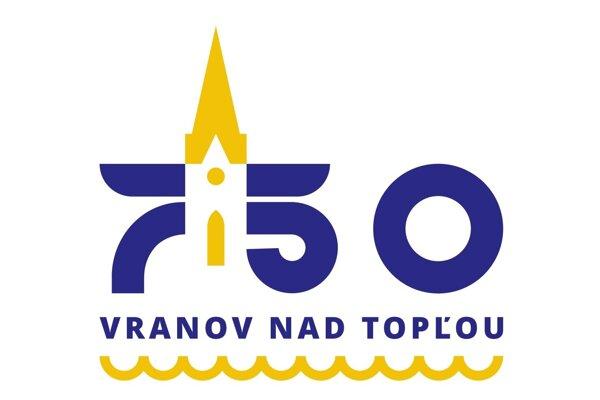 Nové moderné logo Vranova vzniklo pri príležitosti osláv 750. výročia prvej písomnej zmienky o meste.
