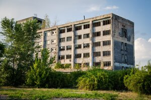 Takto vyzerá areál bývalej Dimitrovky dnes.