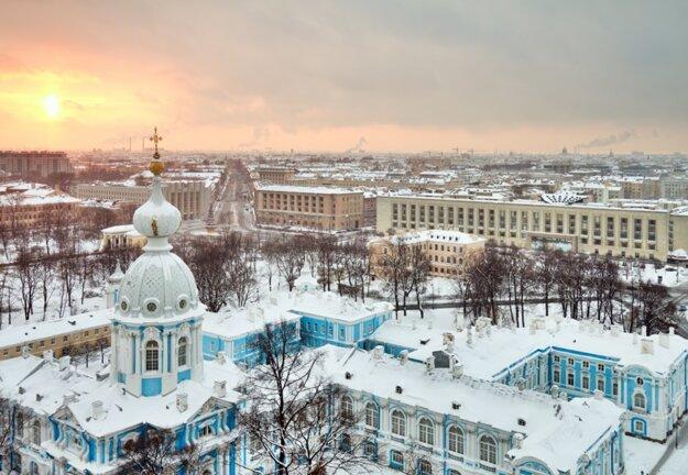 Zimný Petrohrad