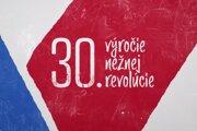 Logo RTVS k 30. výročiu Nežnej revolúcie
