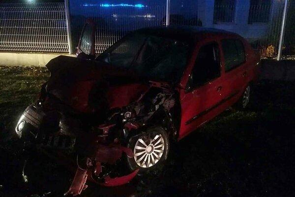 Dopravná nehoda v Dunajskej Strede