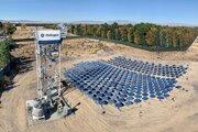 Technológia sústredenia slnečnej energie spoločnosti Heliogen umožňuje dosiahnuť teplotu tisíc stupňov.