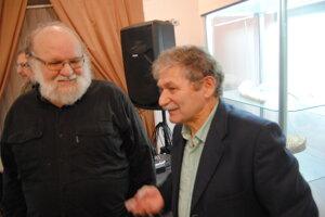 P. Drotár a J. Jurčišin (vpravo).