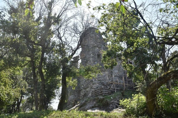 Viniansky hrad.