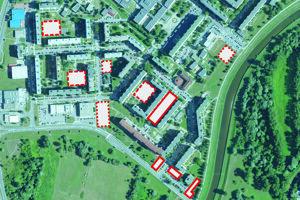 Návrh na umiestnenie parkovacích domov.