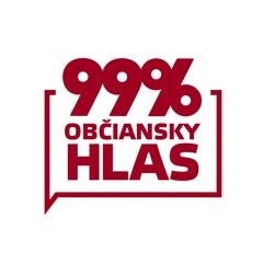 99 % – občiansky hlas (logo strany)