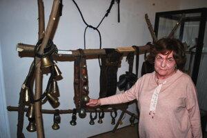 Zberateľova manželka Sylvia Duffeková