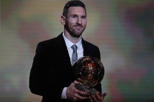 Messi získal rekordný šiestykrát Zlatú loptu magazínu France Football.