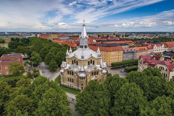 Kostol sv. Pavla v Malmö.