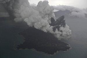 Anak Krakatoa vznikla v roku 1929 v kaldere sopky Krakatoa, ktorá vybuchla v roku 1883.