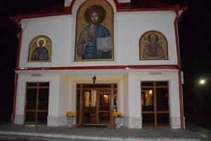Gréckokatolícky chrám v Davidove.