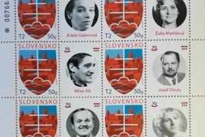 Divadelné známky zdobia portréty vážených osobností DAB, ktorých mená sú vytesané aj do Steny slávy vo foyer divadla.