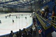 Obnovený zimný štadión v Kežmarku.