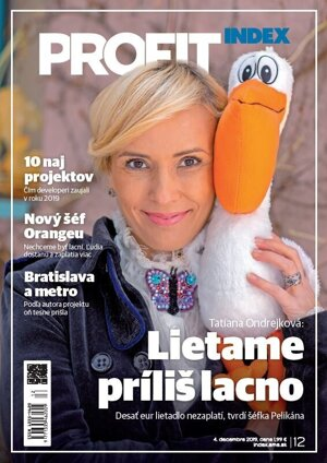 Decembrové číslo magazínu Profit (INDEX)