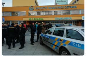 Zásah polície v ostravskej Porube.