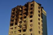 Päť dní po výbuchu.