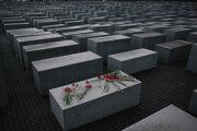 Pamätník holokaustu v Berlíne.