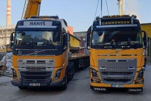 Ťahače Volvo firmy Cannoneer Group.