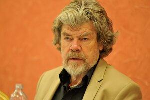 Svetová horolezecká legenda Reinhold Messner.