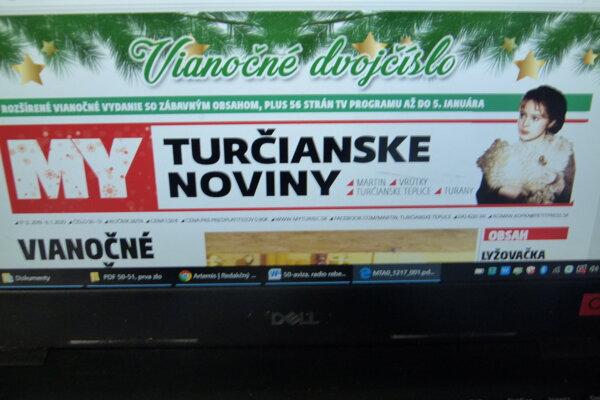 Posledné tohtoročné vydanie MY Turčianskych novín je už hotové.