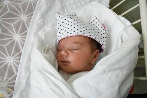 Kirsten Gabriš (3690 g, 52 cm) sa narodila 26. novembra Martine a Petrovi z Dubnice nad Váhom.