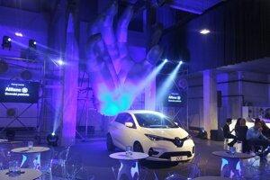 Slovenská premiéra vynoveného Renaultu Zoe.