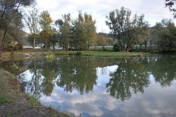 Rybníky pri Považskej Bystrici.