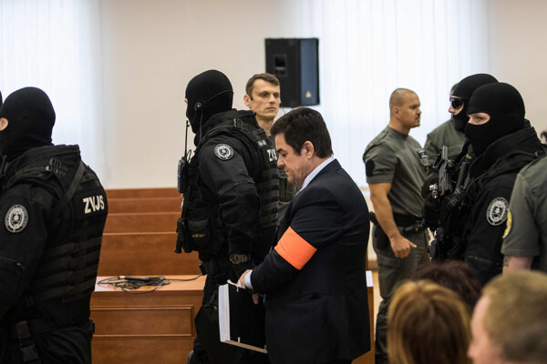 Marian Kočner prichádza na predbežné prejednanie obžaloby v decembri minulého roka.