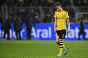 Marco Reus z Borrusie Dortmund.