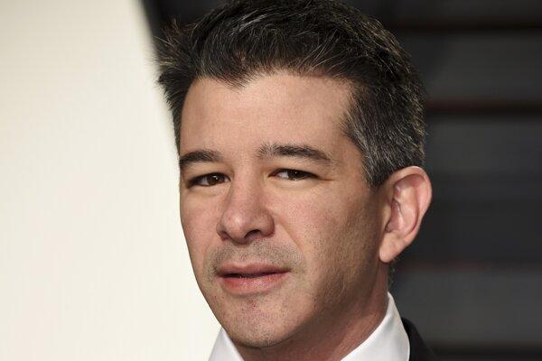Bývalý šéf Uberu Travis Kalanick.
