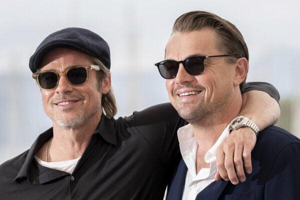 Brad Pitt a Leonardo di Caprio.