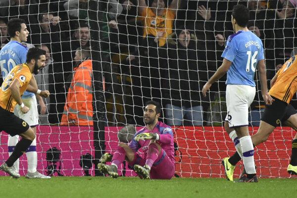Wolverhampton Wanderers zdolal Manchester City v 19. kole Premier League 2019/2020.