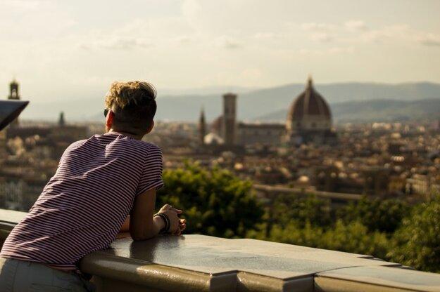 Výhľad z Piazzale Michelangelo
