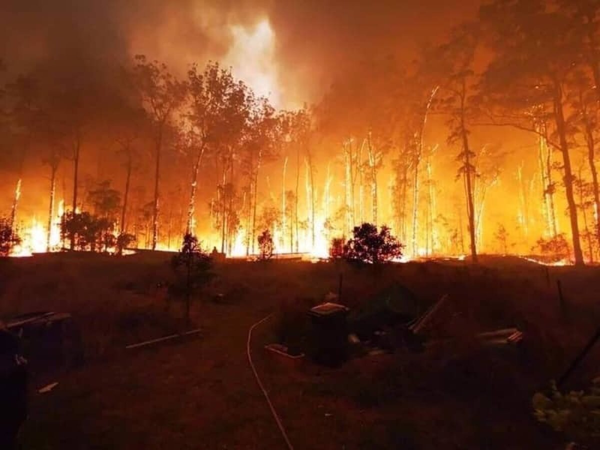 Austrálske požiare vytvárajú vlastné systémy počasia