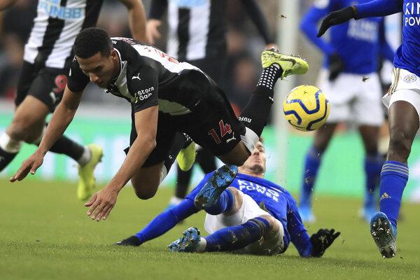 Zápas 21. kola Premier League 2019/2020 Newcastle United - Leicester City.