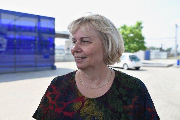 Generálna riaditeľka Bratislavskej integrovanej dopravy (BID) Zuzana Horčíková.
