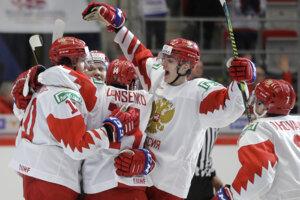 Ruskí hokejisti.