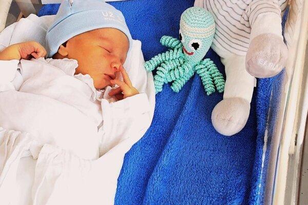 Prvým dieťatkom roka 2020 vo Zvolene je Martin.