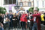 Vínšpacírka bola už tradične vstupom do letnej sezóny, pritiahla množstvo ľudí.